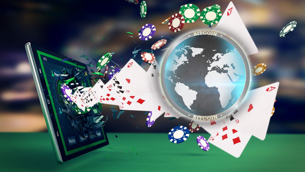 But besides these small advantages, online poker has a big advantage over regular casino or club poker.